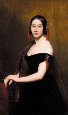 Ary Scheffer - Portrait de dame 1841