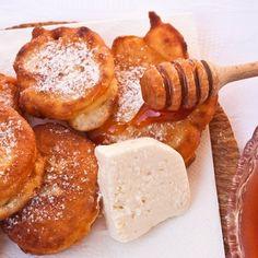 Tiganitsi - Bulgarian fried sweets.