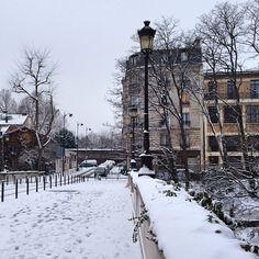 Rue Charles Renouvier / Paris 20ème / Photo by parispromenades