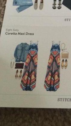 Eight Sixty Coretta Maxi Dress    Stitch Fix https://www.stitchfix.com/referral/4624073