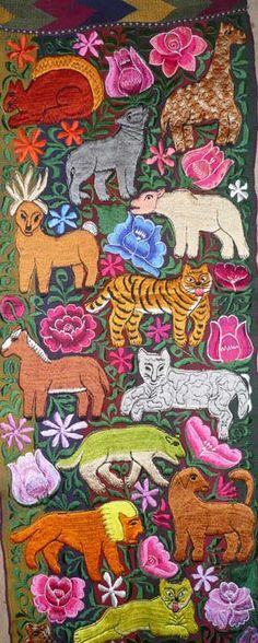 Beautiful hand made Guatemalan textiles