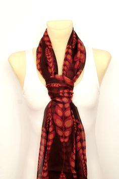 Le donne madri giorno regalo sciarpa di seta di LocoTrends