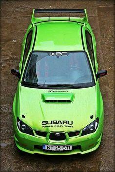 Subaru Impreza rally