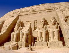 Abu Simbel - Egypt - like going to the end of the world - a journey never to be equaled - powerful beautiful - entierly worth it all the way