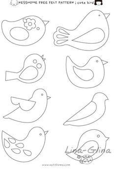 Wzory ptaszków