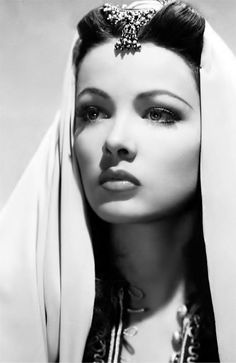 Stunning, jaw-dropping beauty. Gene Tierney                                                                                                                                                                                 More