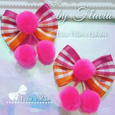 """28 BLESSING Boutique Good Girl Costume 2 /"""" Corker Hair Bows Clip Custom"""