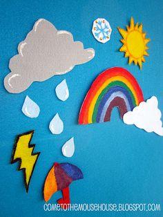 Felt Board - Weather