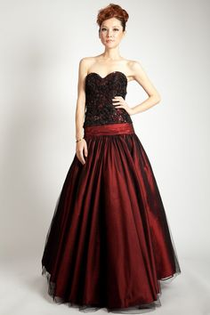 Custom Made Black Lace Accented Burgundy Taffeta by MoonlitBridals, $549.99 Holiday Nights, Strapless Dress Formal, Formal Dresses, Custom Made, Burgundy, Trending Outfits, Unique Jewelry, Lace, Etsy