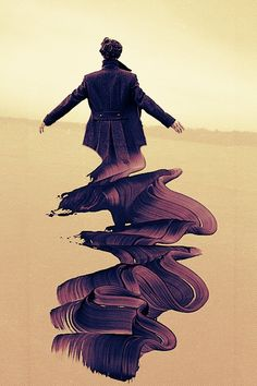 Sherlock fan art this is beautiful