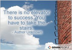 So true--success doesn't come for free!   via @SparkPeople #quotes #motivation #inspiration