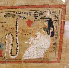 """El Ib o Haty (corazón) era la víscera más importante del hombre y como tal no se retiraba del interior del cuerpo en el proceso de la embalsamamiento. Era el que proporcionaba la libertad de acción y el responsable de los actos que se cometían en la tierra. Como tal, era el que debía ser juzgado en el Más Allá en la """"Sala de las dos verdades"""", presidida por Osiris."""
