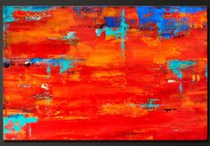 Without Limits    24 x 36    Abstract acrylic painting    Deep 1 1/2 canvas, sides are painted black, staple free, ready to hang.    Signed and
