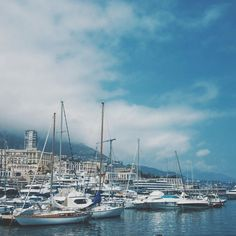 #Monaco #yachts #travel