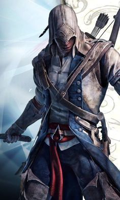 Connor looking super cool. Assassin's creed is one of my all time favorite game serious