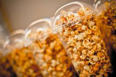 GSC's 25th anniversary.  Tantalizing popcorn was one of the highlights of the tea buffet.