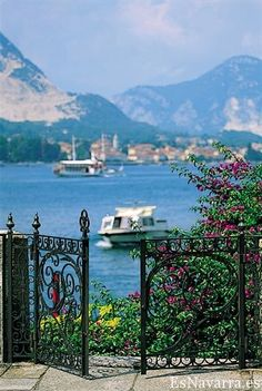 Lago Maggiore,Italy....such picture-perfection and that is the reality! Loved it and would love to go back with my family