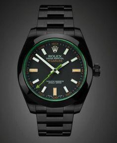 New black Rolex Milgauss