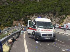 Marmaris'te Katliam Gibi Kaza: Tur Otobüsü Devrildi, 20 Kişi Hayatını Kaybetti