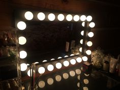 https://flic.kr/p/Ed2Wj4 | Donna's Lunar Eclipse Lighted Vanity Mirror | Mirror Made By: WoodUBeMine Mirror Shop  Very Nice!! Thank you again! It was a pleasure working with you Donna!! :)