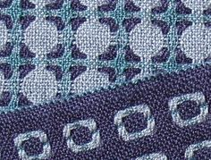 Deflected Double Weave Scarves