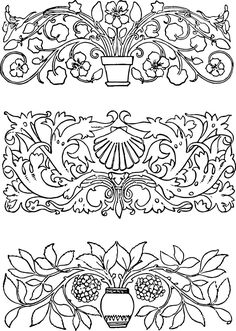 Free Vector Art - Vintage Decorative Ornaments | Oh So Nifty Vintage Graphics
