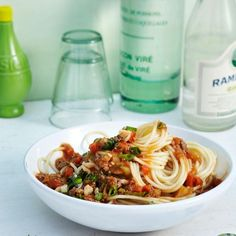 Rezept: Spaghetti mit Asia-Bolognese