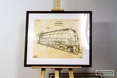 #dzienkolejarza #rysunek #rysunektechniczny #technicaldrawing #drawing #lokomotywa #locomotive #jabelmann #ottojabelmann #oprawa #oprawaobrazow #ramiarnia #ramiarniakrakow #kombinatpasji #frame #framing #art #passepartout Locomotive, Vintage World Maps, Drawing, Decor, Decoration, Sketches, Decorating, Drawings, Locs