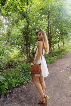 Mis Marli: WHITE DRESS BOHO