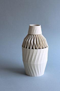 Stratigraphic Porcelain