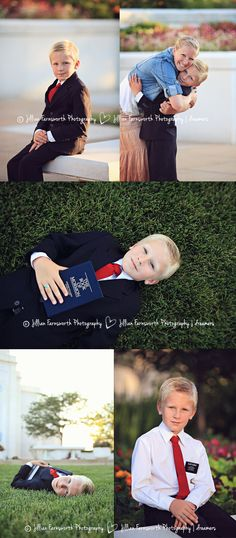 LDS 8 year old baptism portraits by Jillian Farnsworth. Taken at Saint Louis temple. #mormon #baptism #eight