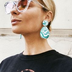 If Pat Butcher Went Earring Shopping Today, She'd Go Here via @WhoWhatWearUK