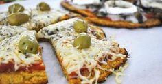 Pizza y harinas blancas refinadas no necesariamente tienen que ir de la mano. ¡Prueba esta práctica, deliciosa y saludable receta con zanahorias!