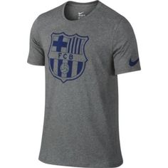 super popular 79962 a7837 Nike FC Barcelona Crest Tee - Grey. Buy it now at SoccerPro Barcelona Shirt,