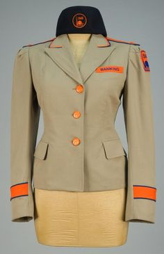1939 World's Fair Uniform Jacket and Hat.