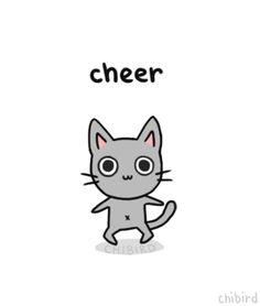 Cheer-up cat~ I hope you guys are doing well! Thank you for the support this week. <3 Trying to make it through a wall of stress, will re...