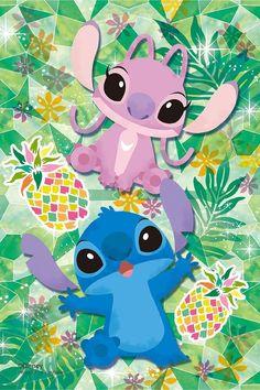 ディズニー スティッチ,エンジェル iPhone(640×960)壁紙 画像59154 スマポ