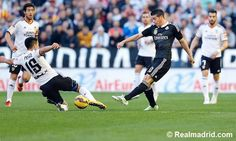 Valencia CF v Real Madrid | James Rodriguez