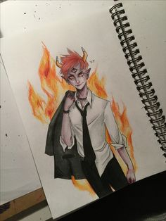Aghhh Tom is my favourite character from star vs the forces of evil :) heres my drawing of him...
