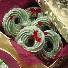 meringue christmas cookies - Google Search