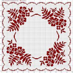 Crochet Patterns Filet, Lace Patterns, Embroidery Patterns, Cross Stitch Patterns, Craft Patterns, Cross Stitch Fruit, Cross Stitch Flowers, Crochet Cross, Crochet Lace