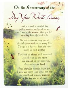 Lisa's Gifts to A Loving Dad in Heaven Memorial Graveside Funeral Poem Keepsake Card Includes Free Ground Stake F381