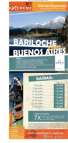 CALL EXTREME TOURS, GO TO BARILOCHE