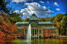 Palacio de Cristal in Madrid, Spain