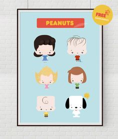 Blog do Math | Ilustra, decor, freebies, DIY. | BRASILIA: FREEBIE: POSTER SNOOPY / PEANUTS