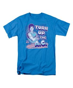 Turquoise 'Turn Up the A.C.' Tee - Adult #zulily #zulilyfinds