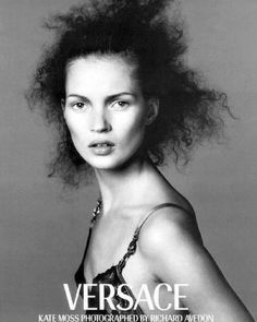 Palau's early work with Kate Moss for Versace.