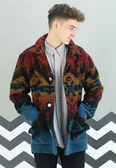 Vintage Winter Aztec Coat X-386 | revolva | ASOS Marketplace