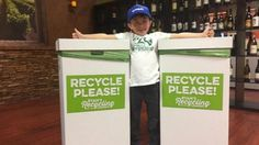 """Ryan Hickman, of Orange County, California, became passionate about recycling four years ago after accompanying his dad on an everyday errand to a local recycling center. """"It was a Saturday and my wife was getting something done at the house so I took him with me,"""" Damion Hickman told ABC News. While Hickman was at work, Ryan and his mom, Andrea Hickman, went to homes in their neighborhood distributing plastic bags to neighbors to collect their plastic and glass bottles and cans."""