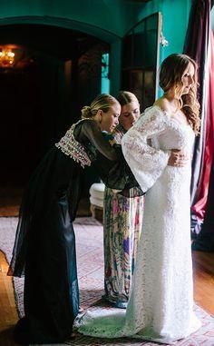 the row wedding dress